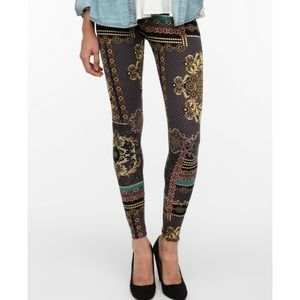 Urban Outfitters Brocade Chain Leggings